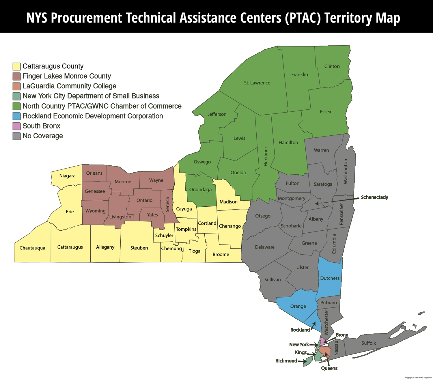 Catt.Co PTAC on the NYS PTAC Coverage Map